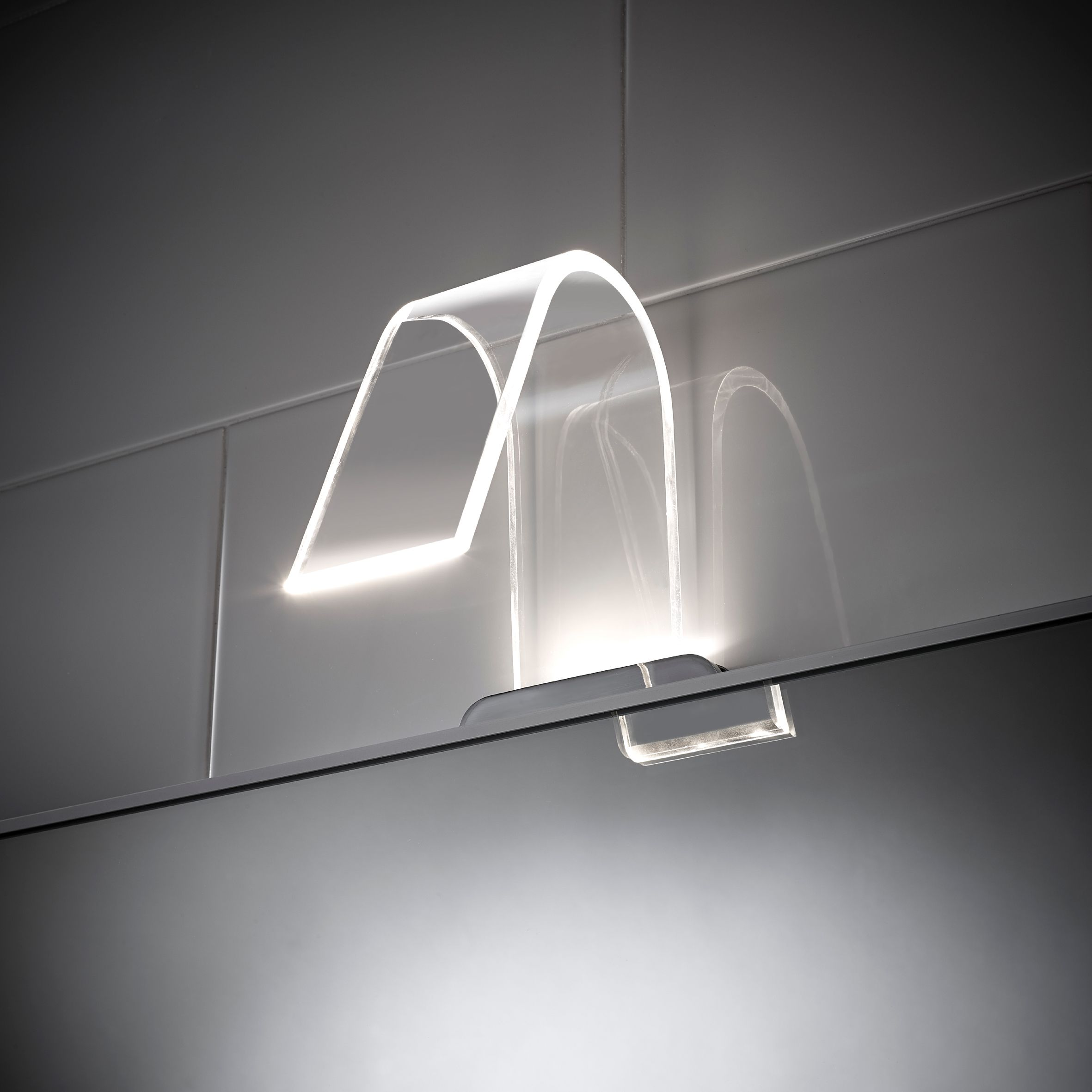 Sensio Cascade curved acrylic LED light most wanted in our