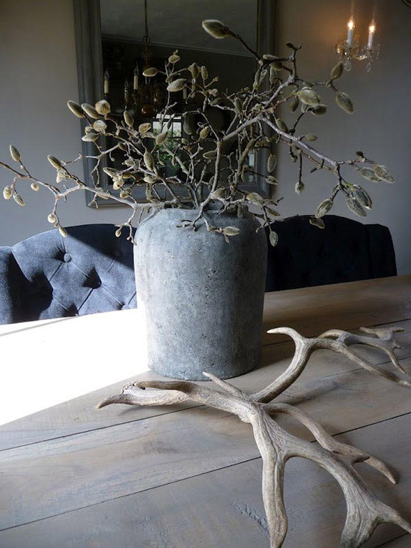 Stylen met grote vazen | Woonkamer | Pinterest