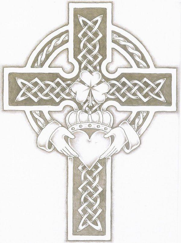 Celtic cross tattoo tattoo ideas crosses celtic claddagh crosses