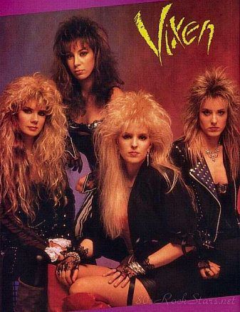 Vixen - The Queens Of Hair Metal - Hair Metal Mansion | Vixen ...