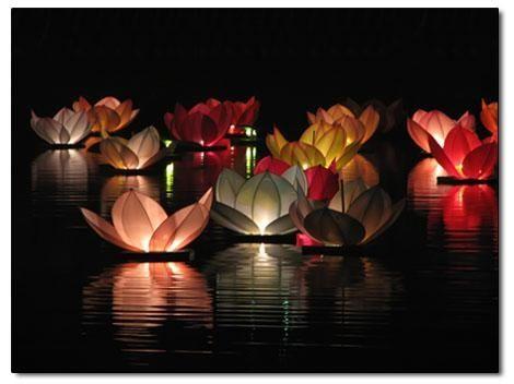 Plovouci Lampion Lotus Baleni Po 10ks Cinske Lampiony Prani