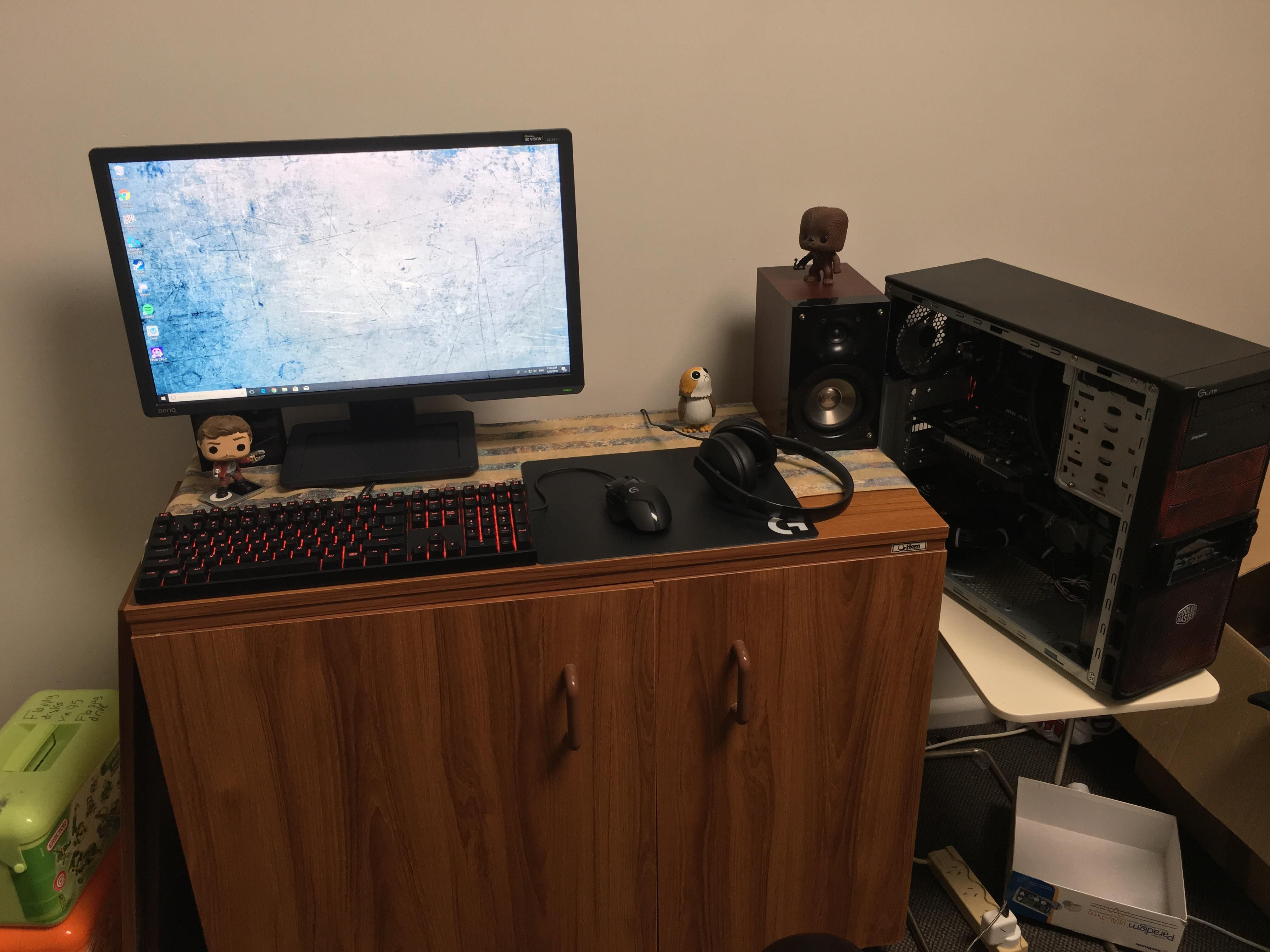 my battlestation pc setups pinterest pc setup