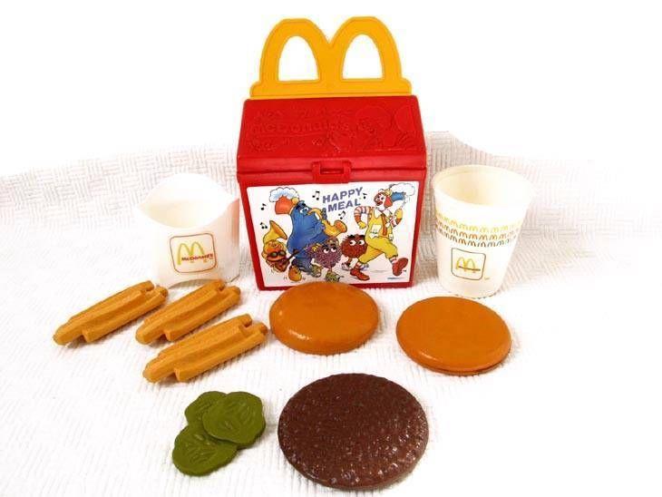 mcdonalds play food sets uk