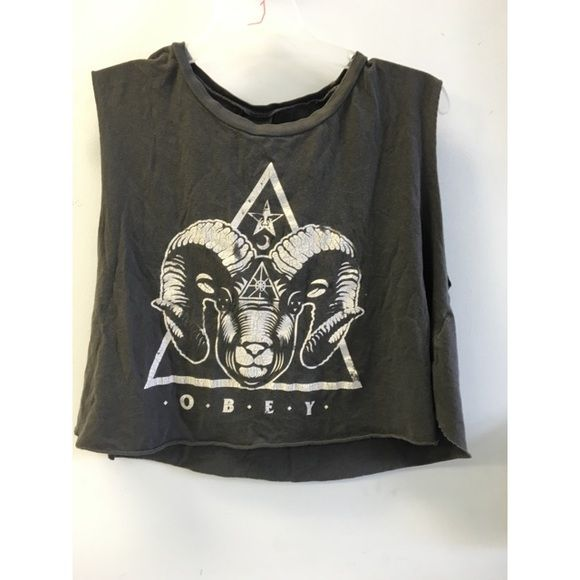 Obey tank top Obey tank. Well loved & in good condition. Obey Tops Tank Tops