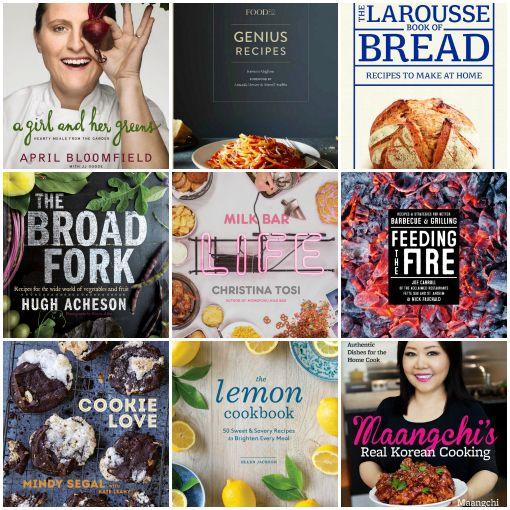 New Cookbooks For Spring