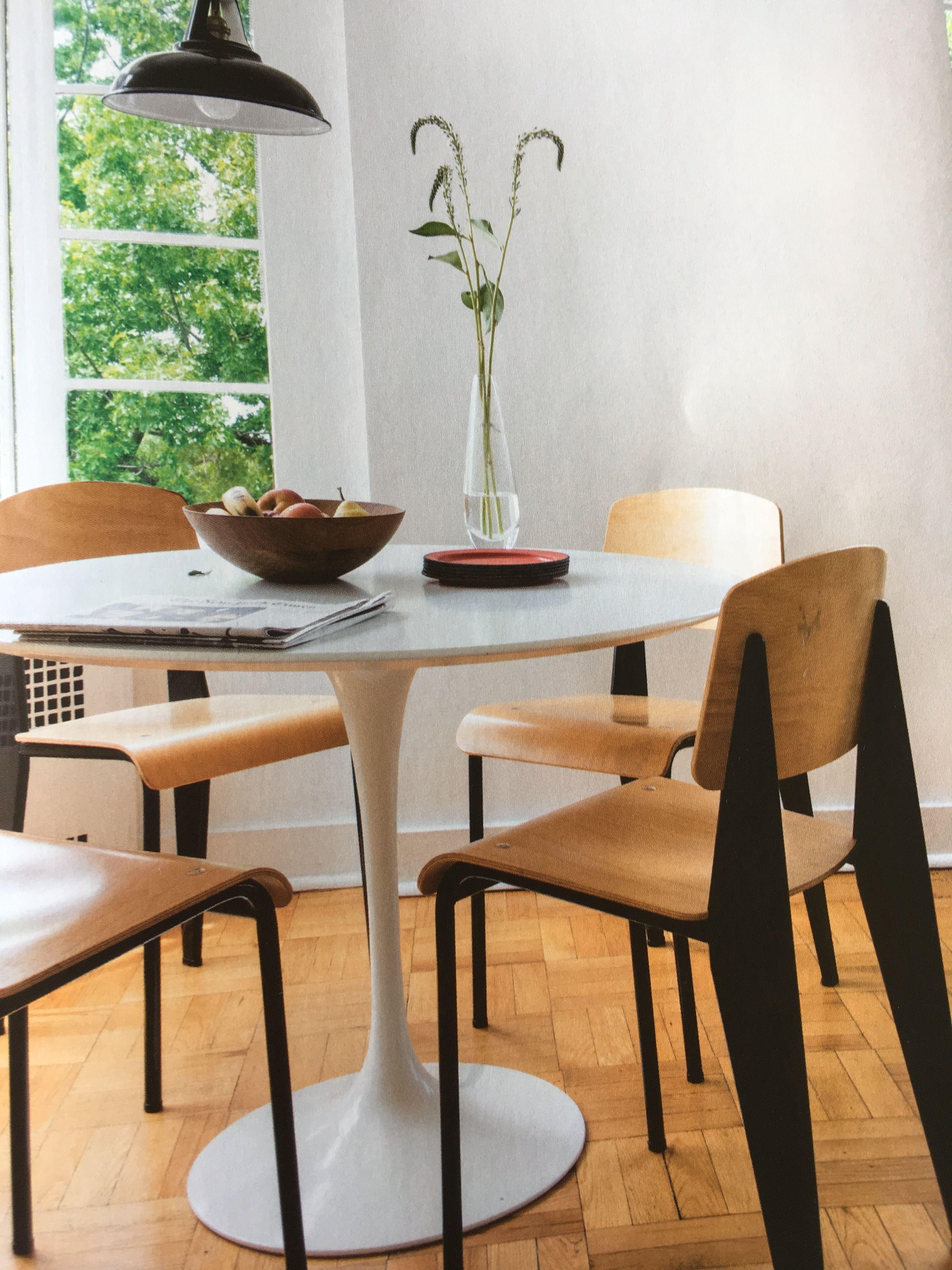 Chamarande Chaise Tulipe Mobilier De Salon Table Et Chaises
