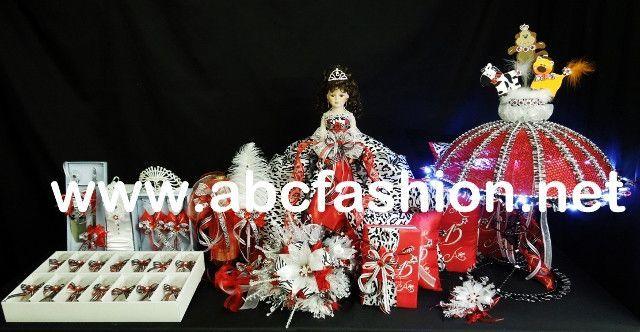 Umbrella Quinceanera Centerpieces - $1,395 Quinceanera Package