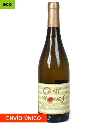 Vino Ecológico Gewürztraminer Blanco Cent Piques https://www.delproductor.com/es/cavas-vinos-ecologicos/599-vino-ecologico-gewurztraminer-blanco.html