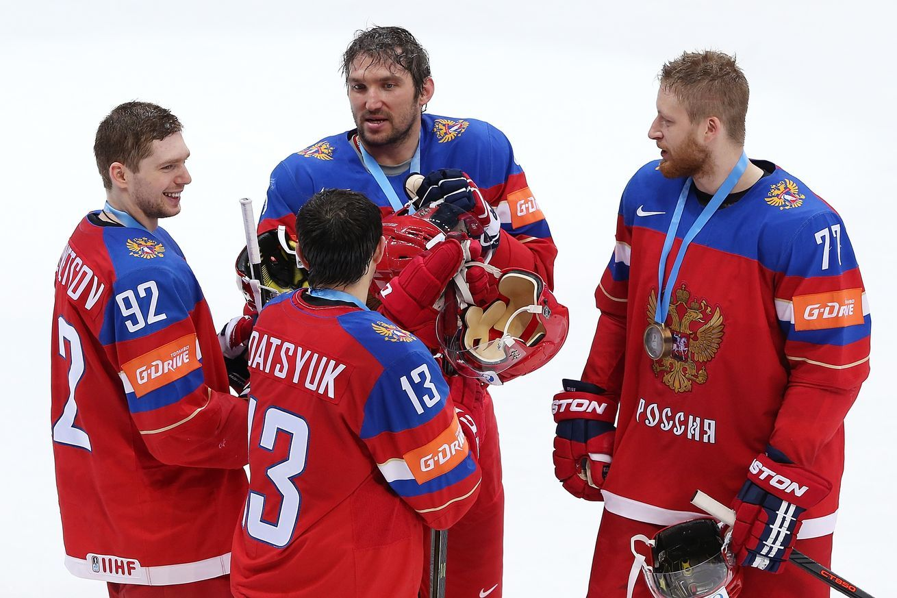 Russia Unveils Stacked World Cup Of Hockey Roster As Slava Voynov Questions Linger Hockey World Cup Hockey Russia
