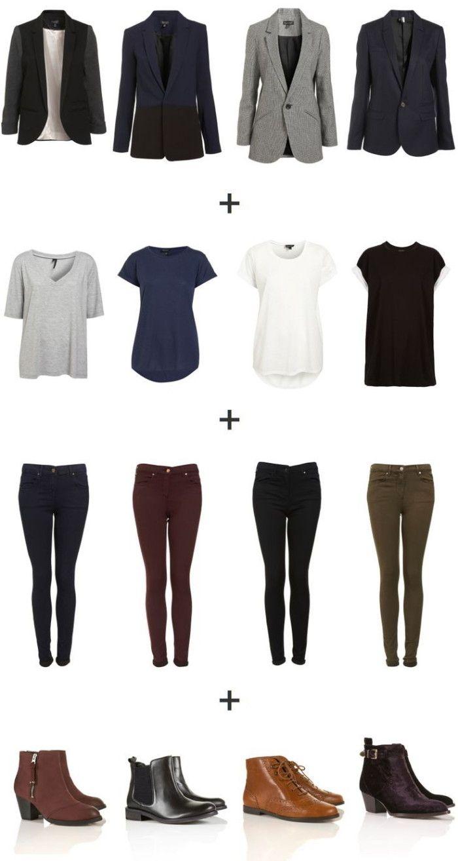 Business-Kleidung: Damen Jeans für Büroarbeit - Frauen Mode #workstyle