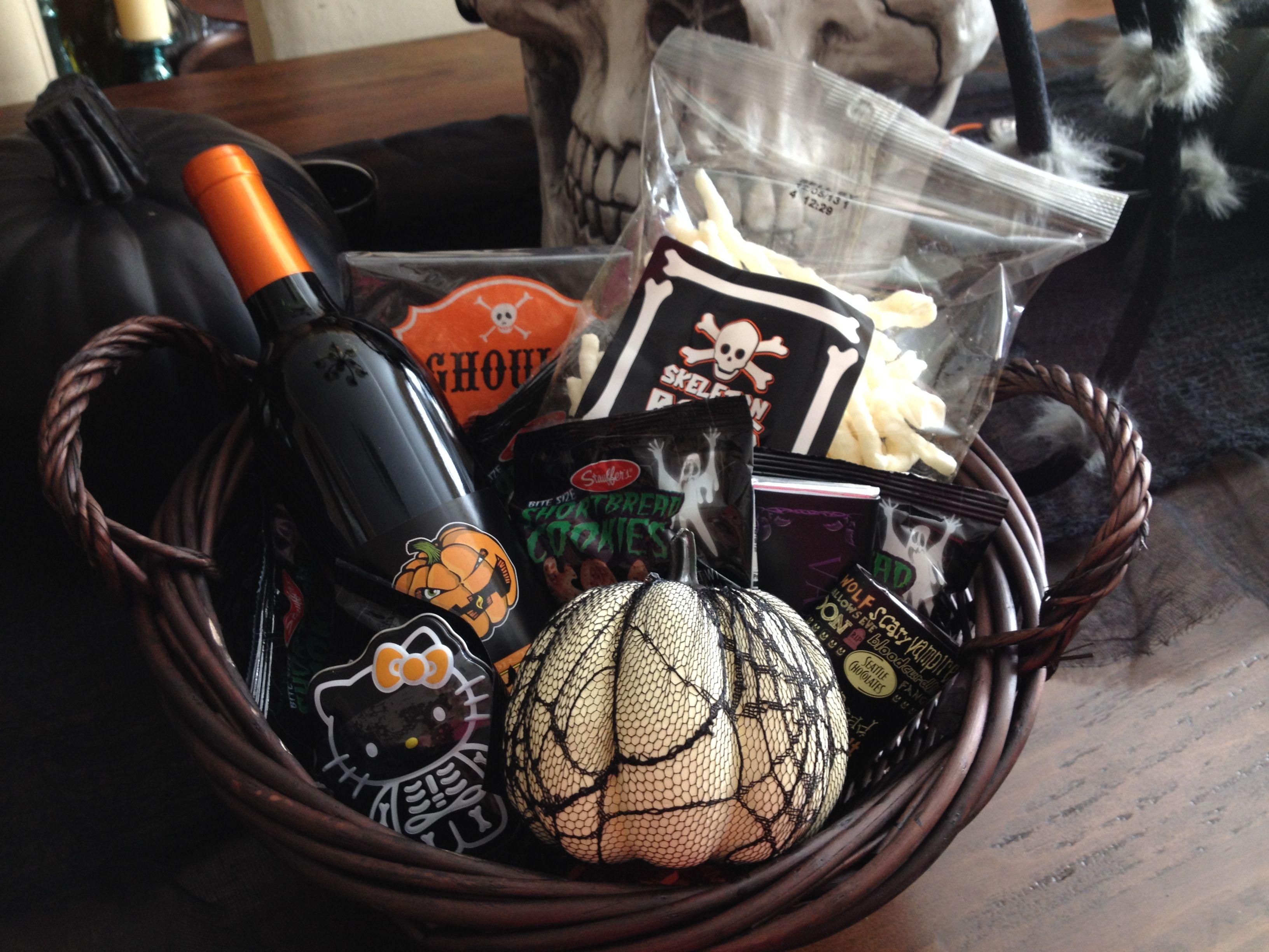 Halloween gift basket ideas halloween treats pinterest halloween gift basket ideas negle Gallery