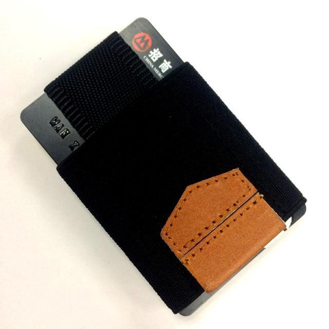 Elastic Magic Small Credit Card holder Minimalist Slim Business ID Card Wallet