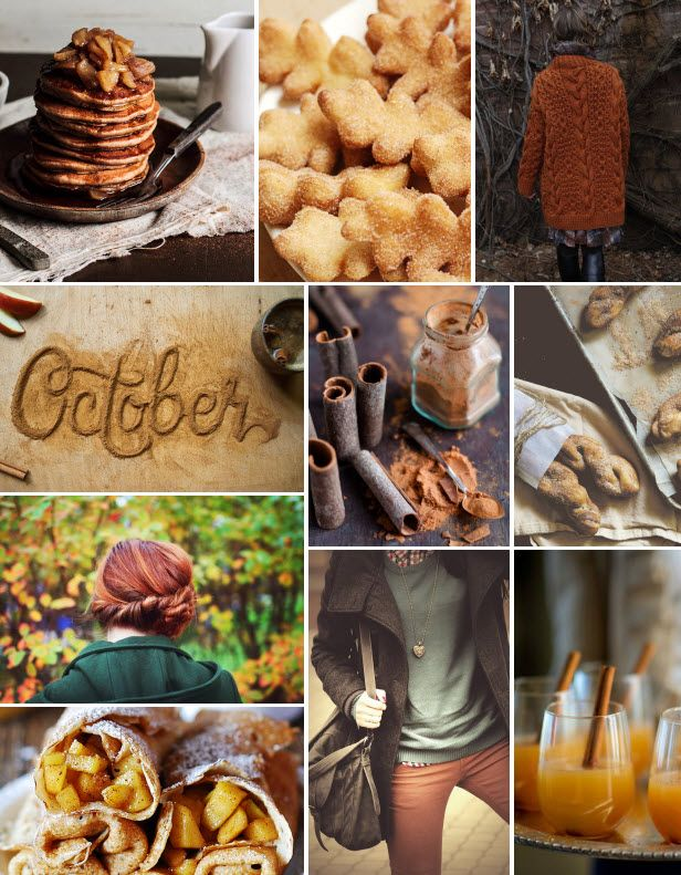 Mood Board Monday: Cinnamon (http://blog.hgtv.com/design/2013/10/14/mood-board-monday-cinnamon/?soc=pinterest)