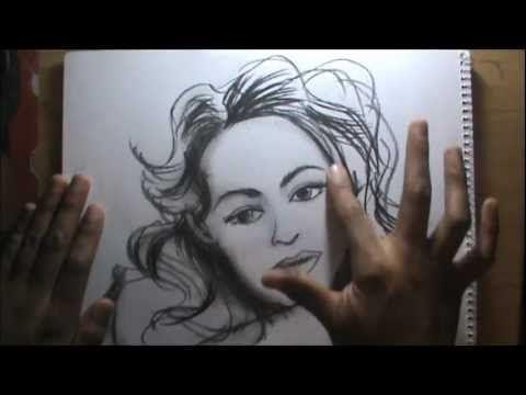 Curso de dibujo a lpiz cap 20 Dibujo de rostro  VIDEOS