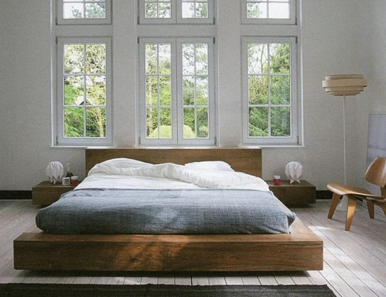 Teak Bed Platform Bed Designs Furniture Design Bed Design