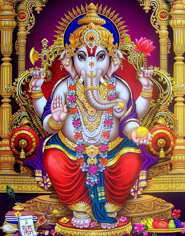 Ganesha | Lord ganesha paintings, Shiva art, Lord ganesha