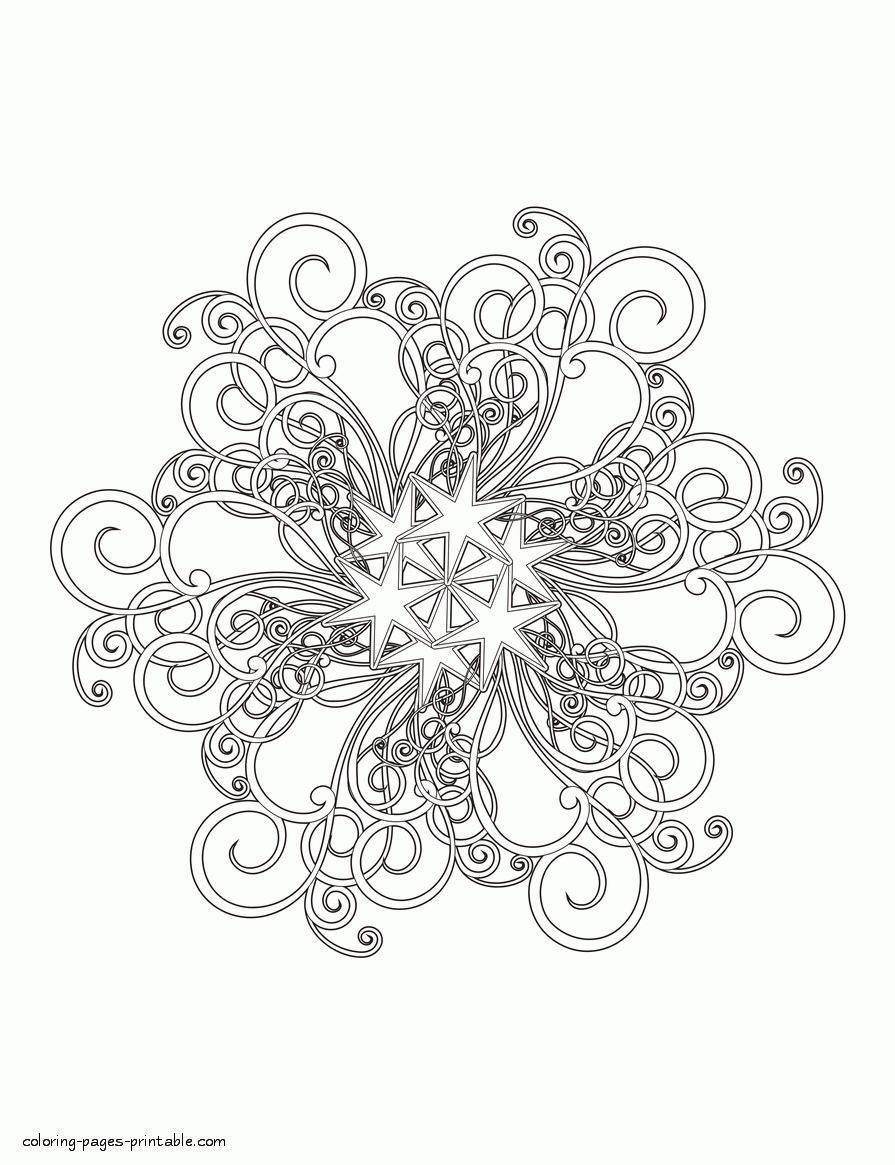 Schneeflocke Christmas Coloring Pages For Felt Pattern Ideas Christmas Coloring Felt Ideas Pages Malvorlagen Weihnachtsmalvorlagen Schneeflocken