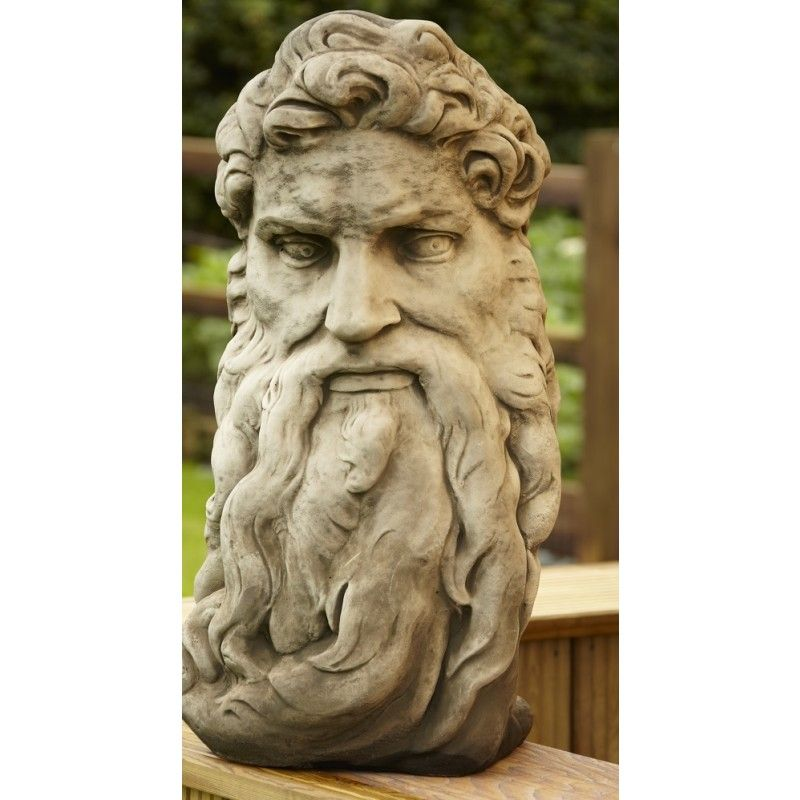 God S Head Or Zeus Statue Statues And Ornaments Large