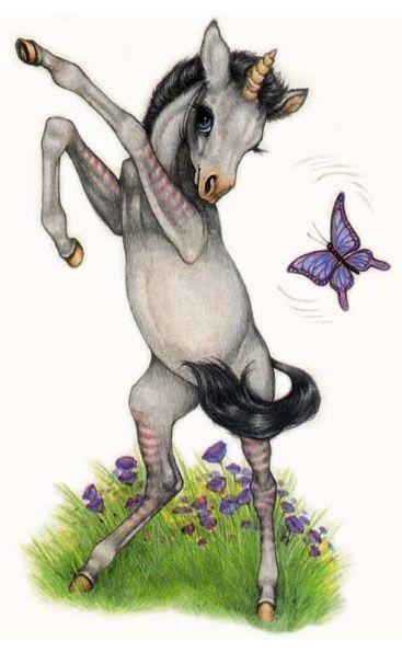 Robin James, children's book illustrator   The Last Unicorn ...