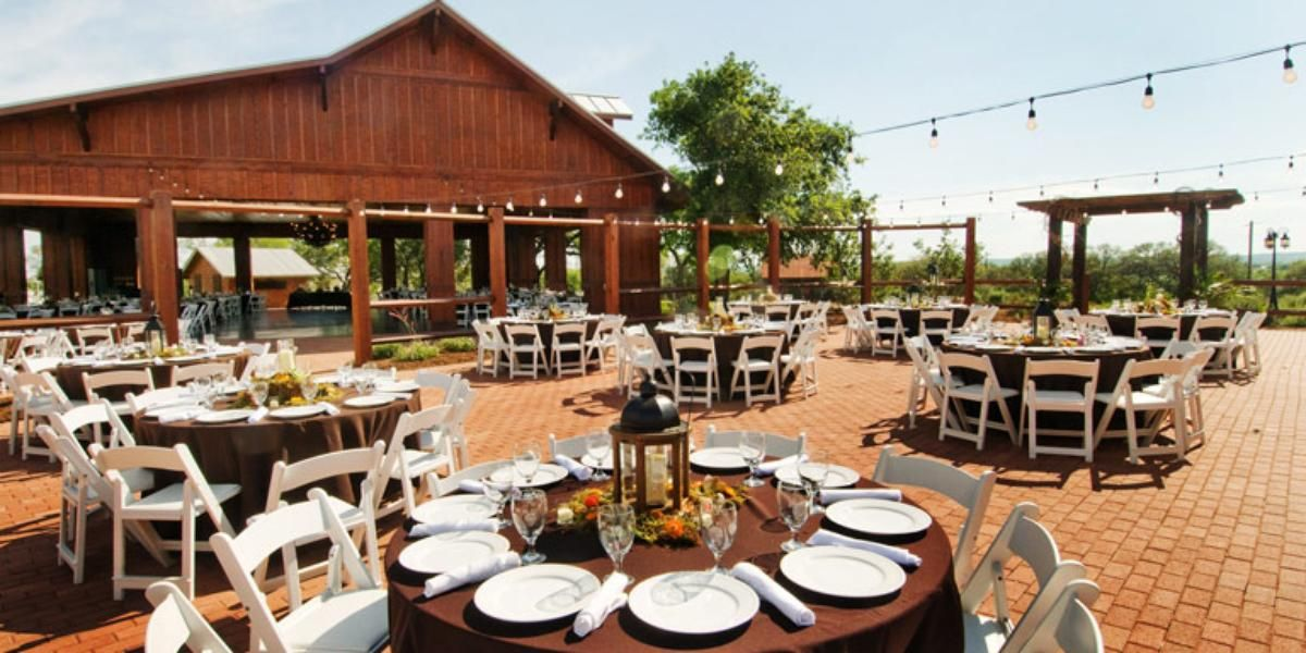 The Grande Hall At Hofmann Ranch Weddings Price Out And Compare Wedding Costs For