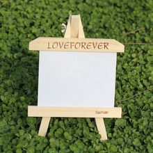 7-inch wood frame easel creative personalized photo frame wedding photo studio furnishings Children(China (Mainland))