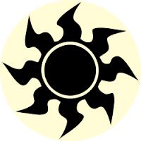 Resultado de imagem para hybrid symbols mana mtg