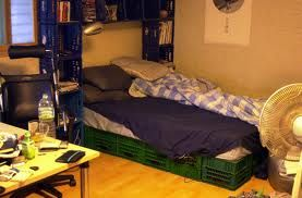 Milk Crate Bed Crate Bed Frame Bedroom Diy Milk Crates