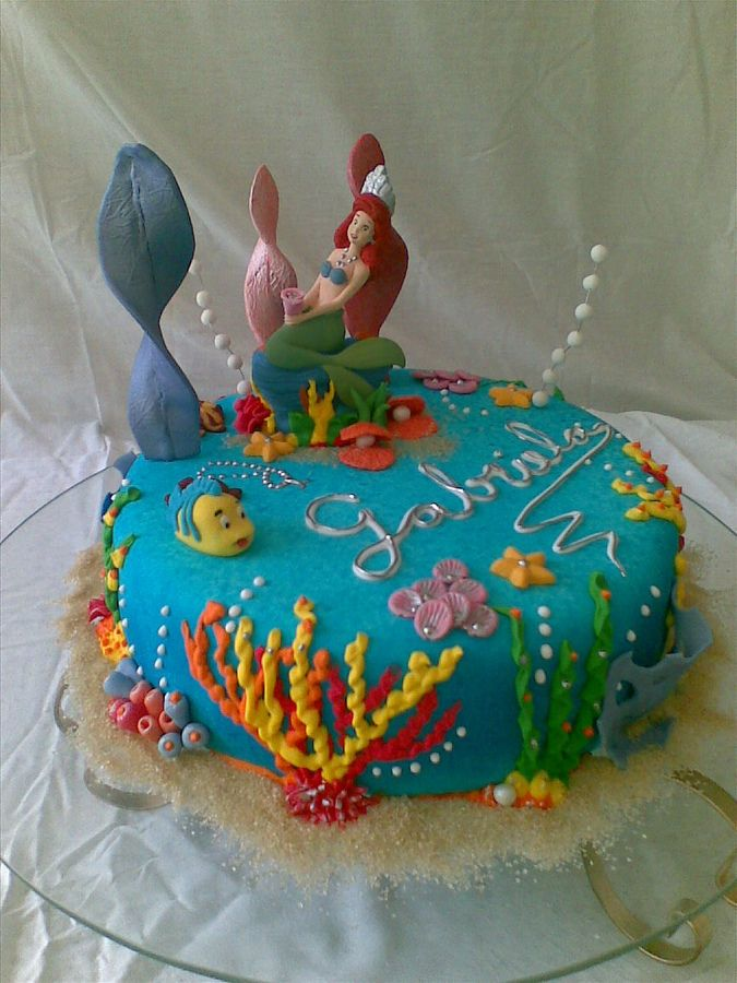 Princess Ariel Birthday Cakes  Princess Ariel — Childrens Birthday ...