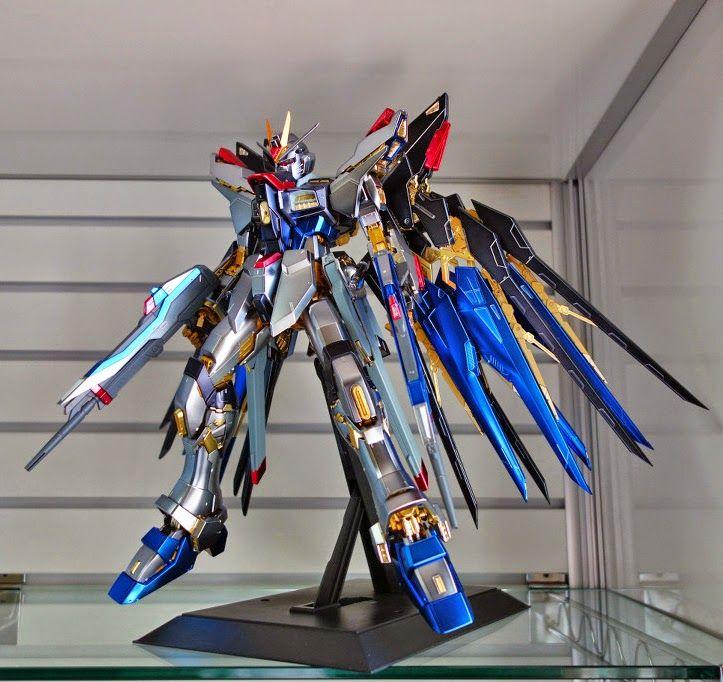 Gundam Guy Pg 1 60 Strike Freedom Extra Finish Coat Ver Painted Build Gundam It Is Finished Coat