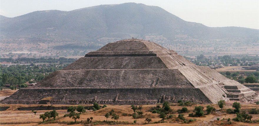 Pyramid Of The Sun Teotihuacan Mexico Better Pic Of What Dwaine Climbed While I Watched Cheered Ciudad De Teotihuacan Piramide De Keops Mexico City