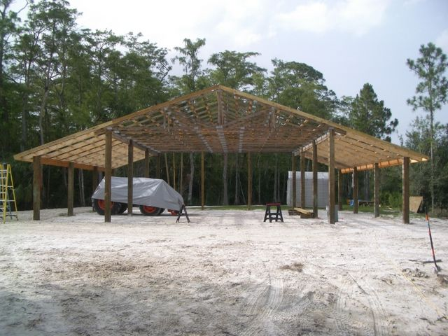 Finally started pole barn 40x50 page 4 garage for How to get started building a home