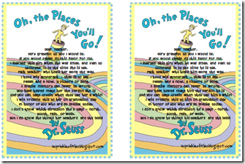 image about Oh the Places You'll Go Printable Template called Notice in direction of transfer alongside with Oh the Areas Youll Transfer after by yourself offer you