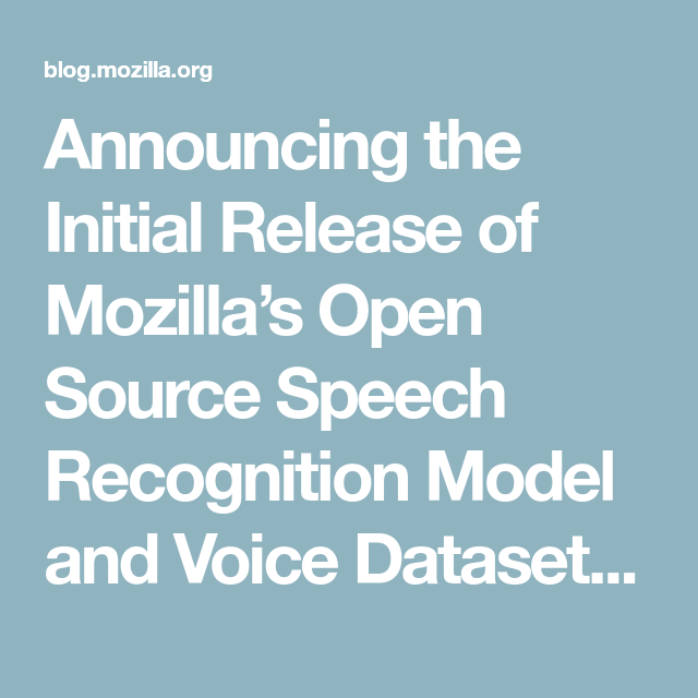 Announcing the Initial Release of Mozilla's Open Source
