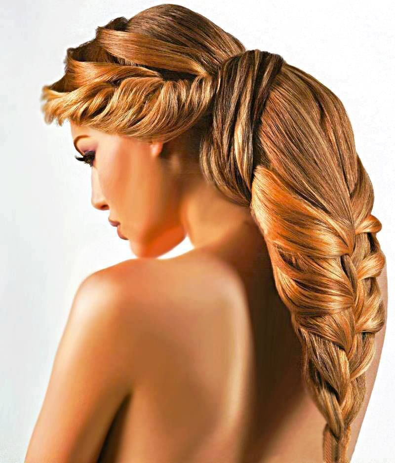 Long Brunette Hairstyle for Homecoming and Prom | Long ...