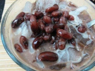 Membuat Es Kacang Merah Minuman Buka Puasa Kacang Merah Resep Kacang