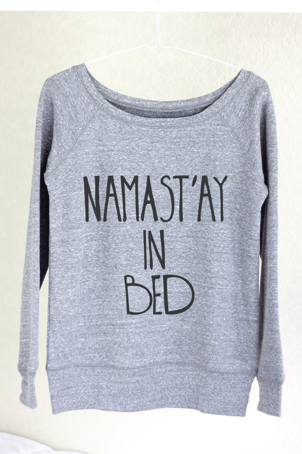 eefac00cc18ff Namastay In Bed Namastay In Bed Sweater Namastay by ArimaDesigns ...