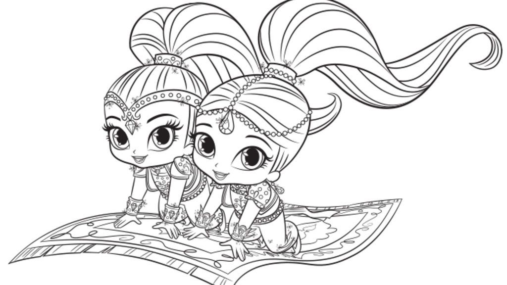 Image result for shine and shimmer coloring pages ...