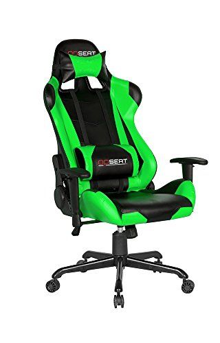 Opseat Master Series Pc Gaming Chair Green See This Great Product Note It Is Affiliate Link To Amazon Gaming Chair Game Room Chairs Chair