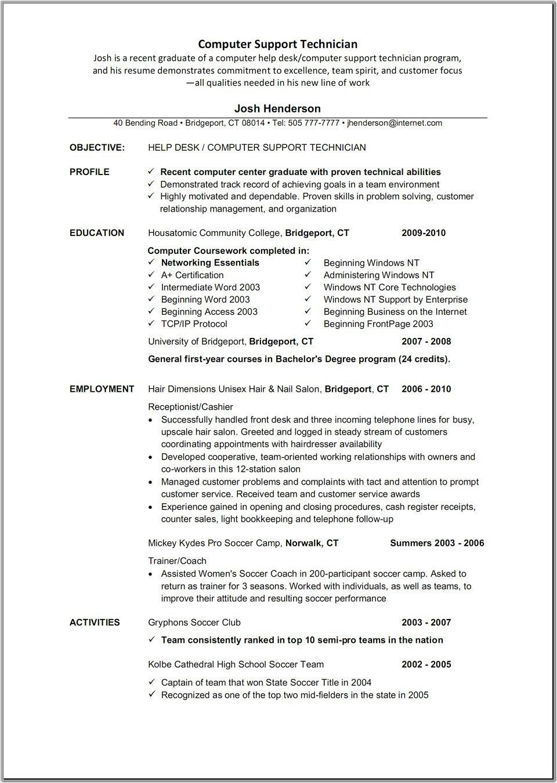 general resume for customer service
