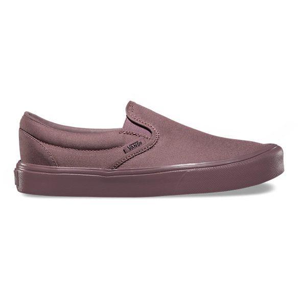 Mono Slip On Lite Vans And Footwear