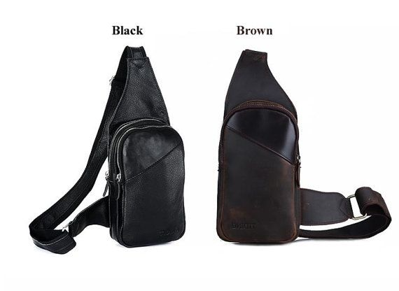 Men's Genuine Leather Rustic BackpackSingle by KuLaLaWorld on Etsy, $49.00