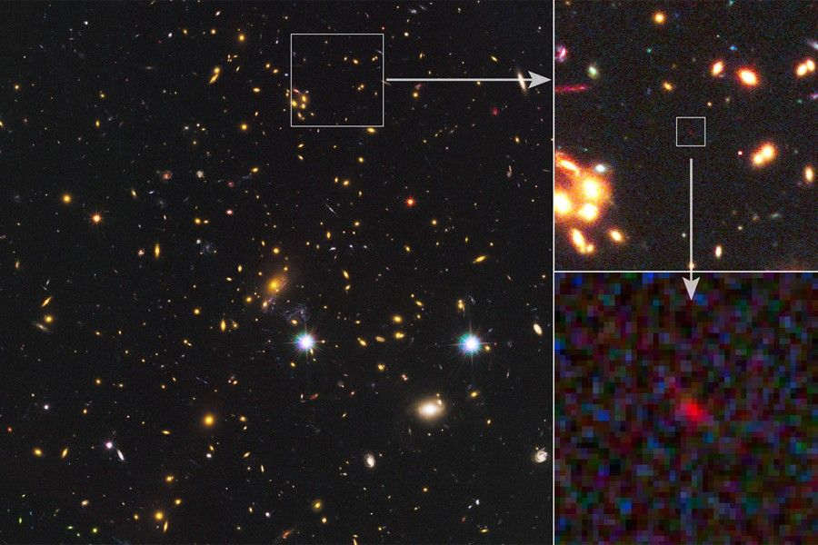New galaxy sighting could be the most distant galaxy ever seen