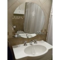 Espejo Redondo 60cm Para Decorar Bano Dormitorio Living Espejos