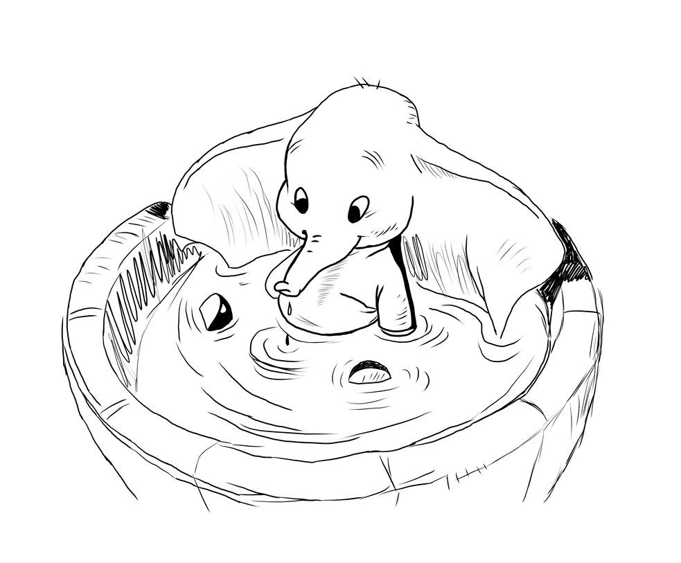 disney dumbo coloring pages - Bing Images | dumbo ...