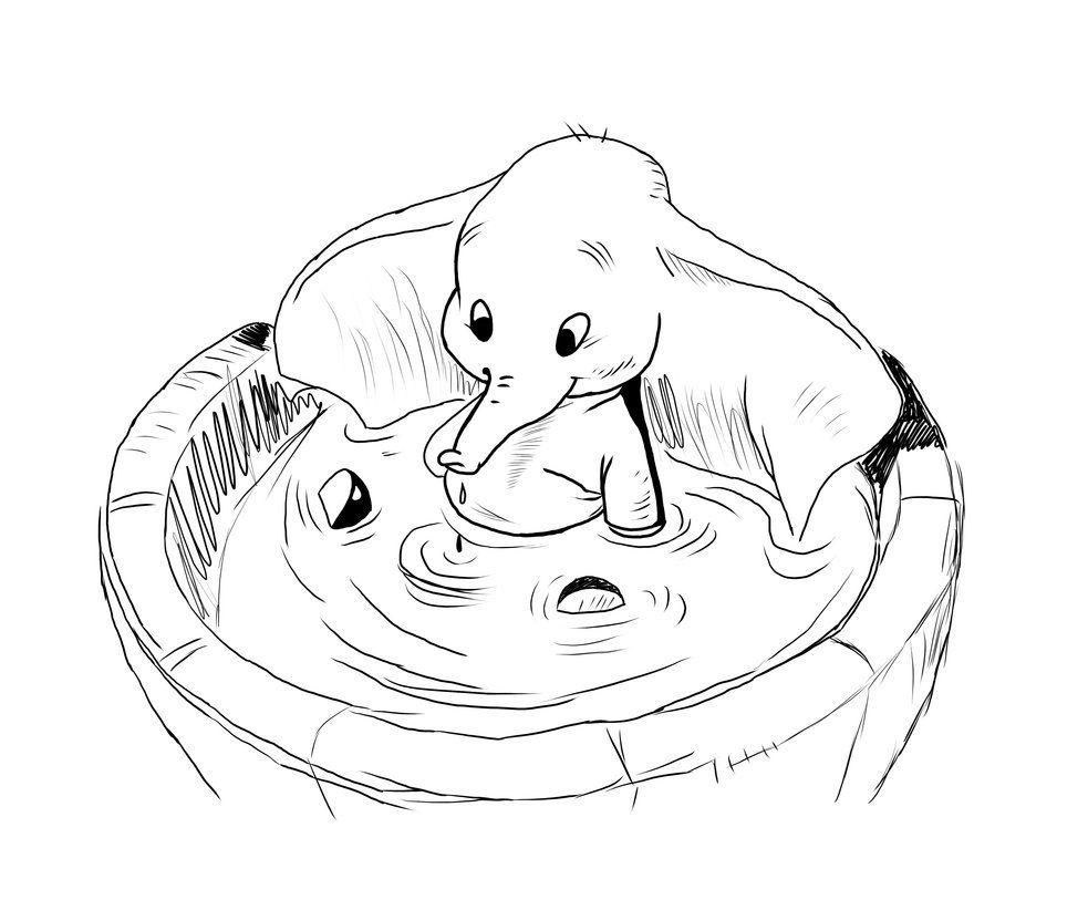Dumbo Walt Disney by Panagiotis-Komamura on deviantART  Dumbo