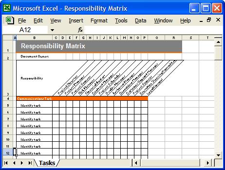 Communication Plan Template Free Microsoft | Communication