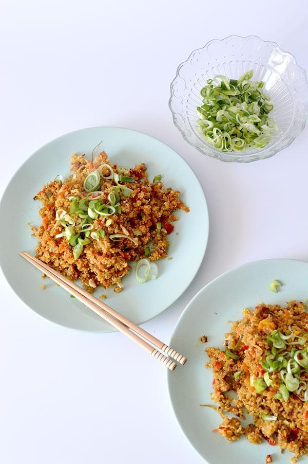 Paso a paso quinoa con verduras en 2019  recetas  Quinoa Cereal recipes y Food
