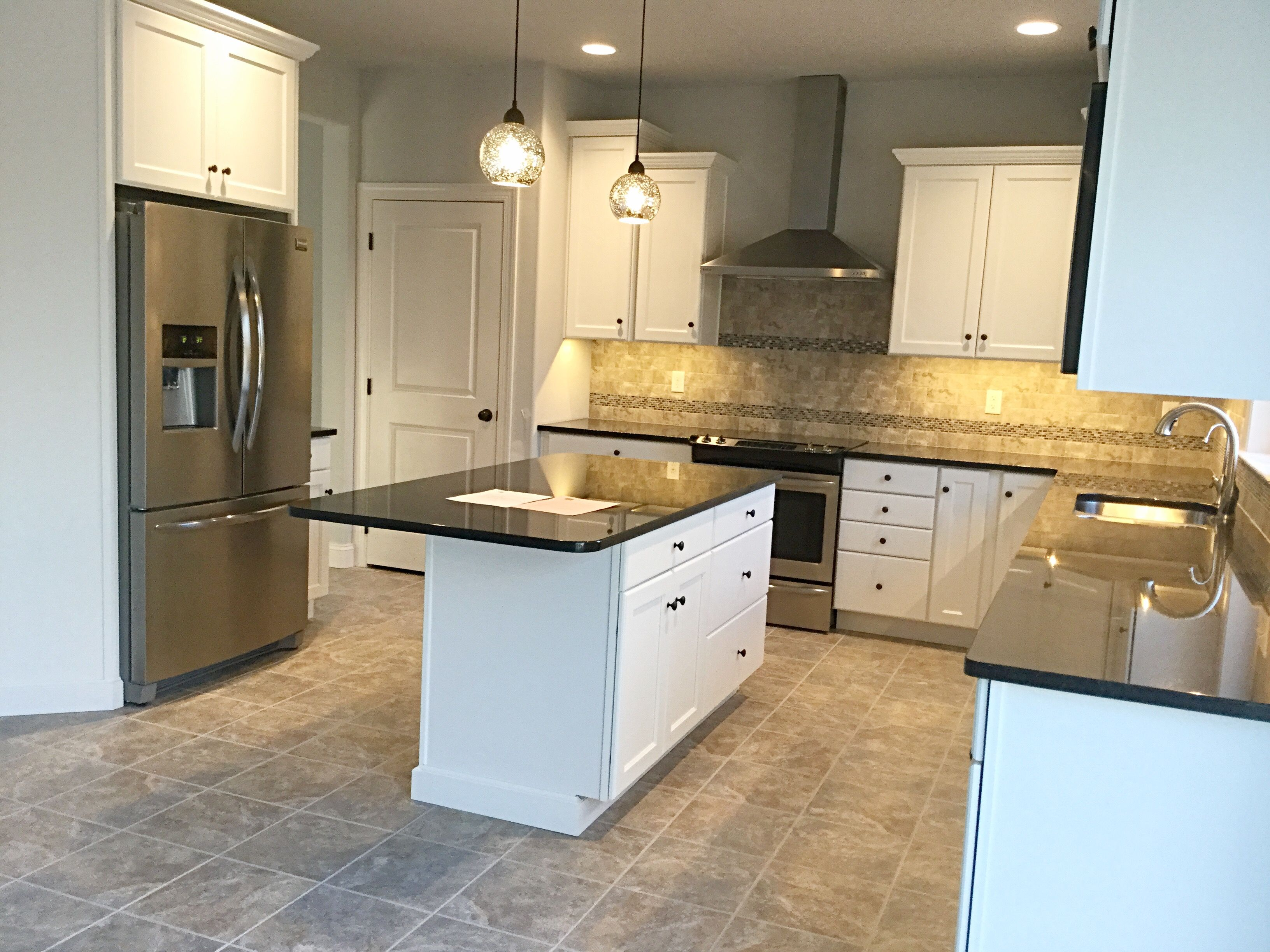 classic timeless kitchen with white cabinets black granite rh pinterest com
