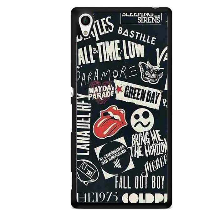 My Favorite Band TATUM-7543 Sony Phonecase Cover For Xperia Z1, Xperia Z2, Xperia Z3, Xperia Z4, Xperia Z5