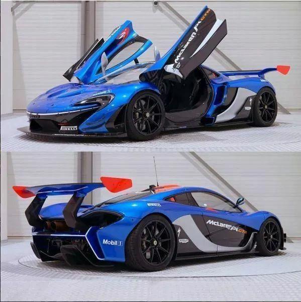 Top 20 Exotic Sports Cars: McLaren P1 GTR #mclarenp1 #MclarenSupercar #mclaren650s